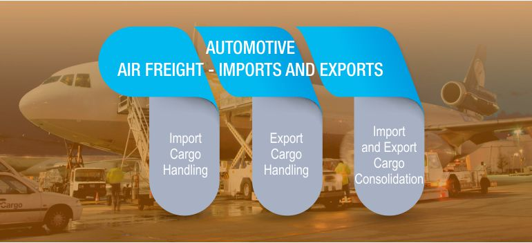 Import Cargo Handling,Export Cargo Handling,Import and Export Cargo Consolidation,             AIR FREIGHT - IMPORTS AND EXPORTS